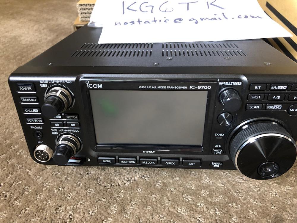SOLD - Icom IC-9700 VHF/UHF all-mode + triplexer | QRZ Forums